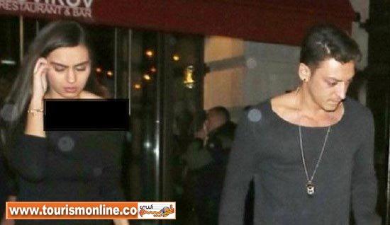 فوتبالیست مشهور و رابطه مخفیانه او با زیباترین دختر ترکیه