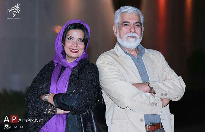 عاطفه رضوی و همسرش حسین پاکدل عکس